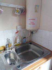 Staff Kitchen immersion heater